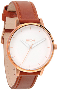 Nixon Kensington Leather Rosegold/ White A108-1045