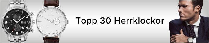 Topp 30 Herrklockor